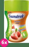 6x SUNÁREK Rozpustný nápoj jahodový - dóza (200 g)