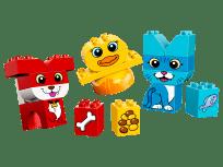 LEGO® DUPLO® 10858 Moji prví skladací maznáčikovia