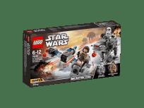 LEGO® Star Wars 75195 Snežný spídr™ a kráčející kolos Prvního řádu™