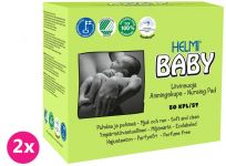2x HELMI BABY Dojčiace vankúšiky do podprsenky 50 ks