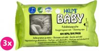 3x HELMI BABY Bio, eko 64ks - vlhčené ubrousky