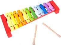 TEDDIES Xylofon dřevo/kov