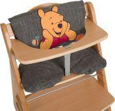 HAUCK Potah na jídelní židličku Deluxe - Pooh Grey
