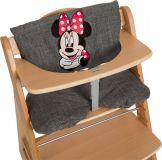 HAUCK Potah na jídelní židličku Deluxe - Minnie Grey