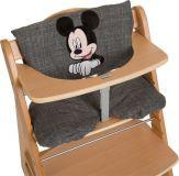 HAUCK Potah na jídelní židličku Deluxe - Mickey Grey