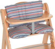 HAUCK Potah na jídelní židličku - Multi Stripe grey