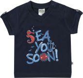 JACKY Tričko krátky rukáv OCEAN BOY, veľ. 80, modrá