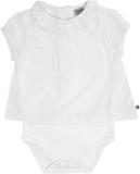 JACKY Body blúzka krátky rukáv CLASSIC GIRLS, veľ. 74, biela