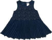 JACKY Společenské šaty CLASSIC GIRLS, vel. 80, modrá