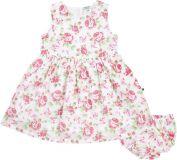 JACKY Elegancka sukienka ze spodniami Summer Styles, rozm. 74 – różowa/nadruk