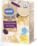 5x NESTLÉ Skarby zbóż Kaszka owsiano-pszenna ze śliwką (6m+) 250 g