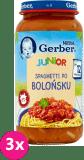 3x GERBER Doremi spaghetti bolognese 250 g