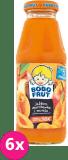 6x BOBO FRUT 100% sok jabłko, marchewka i morela 300ml