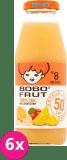 6x BOBO FRUT 100% Sok wieloowocowy (8m+) 300 ml