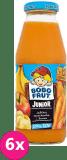 6x BOBO FRUT 100% sok jabłko, marchewka i banan (300ml) – po 12. miesiącu