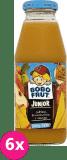 6x BOBO FRUT 100% sok jabłko, brzoskwinia i mango 300ml