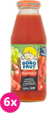 6x BOBO FRUT Pomidorek – Sok pomidor, winogrona i marchewka (300 ml)