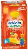 BEBIVITA Jablko, broskev, mango 4x90 g – ovocný příkrm
