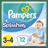 PAMPERS Pants Splashers veľ. 3-4 (6-11 kg), 12 ks - jednorazové plienky do vody