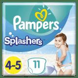PAMPERS Pants Splashers veľ. 4-5 (9-15 kg), 11 ks - jednorazové plienky do vody