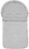 ESITO Letný autofusak plyš – sedý melír (85 x 42 cm)