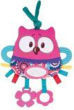 CANPOL BABIES Plyšová edukační zavazovací hračka Forest Friends - sova