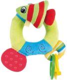 CANPOL BABIES Pluszowa grzechotka z gryzaczkiem ocean – rybka