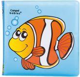 CANPOL BABIES Miękka książka piszcząca – ryba