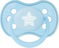 CANPOL BABIES Dudlík sil. symetrický 0-6m Pastels modrá