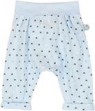 BOBOLI Spodnie z nadrukiem, rozm. 74 cm – jasnoniebieskie/nadruk, chłopczyk