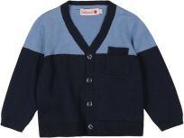 BOBOLI Společenský chlapecký svetřík - rozepínací, 86 cm - modrá, kluci