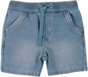 BOBOLI Kraťasy s vreckami, 68 cm - modrá, chlapec