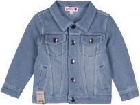 BOBOLI Džínová bunda, 104 cm - modrá, kluci