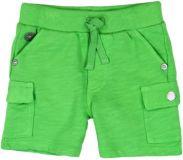 BOBOLI Chlapčenské bavlnené kraťasy, 74 cm – zelená