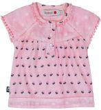 BOBOLI Tričko s krajkou, 98 cm - růžová/potisk, holky