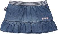 BOBOLI Denim dívčí sukně, 86 cm - modrá, holky