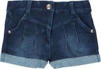 BOBOLI Krótkie spodenki elastyczne, rozm. 92 cm – ciemnoniebieskie, dziewczynka