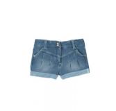 BOBOLI Krótkie spodenki elastyczne, rozm. 92 cm – niebieskie, dziewczynka