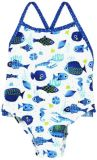BOBOLI Jednodílné plavky - rybka, 98 cm - potisk, holky