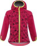 GOOD2GO Softshellová bunda růžová - vel. 104