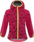 GOOD2GO Softshellová bunda ružová - veľ. 98