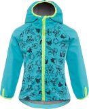 GOOD2GO Softshellová bunda modrá - veľ. 98