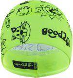 GOOD2GO Funkční čepice Micro Cool Max žlutá - vel. 2