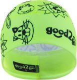 GOOD2GO Funkční čepice Dolomiti žlutá - vel. 3