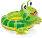 INTEX Kruh nafukovací zvířátko cca 3-6 let 66x55 cm – žába