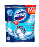 DOMESTOS Power 5 Ocean tuhý WC blok 5x55 g