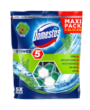 DOMESTOS Power 5 Pine tuhý WC blok 5x55 g