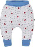 G-MINI Krtek Kalhotky Kalhoty do pasu potisk vel. 74, modrá, kluk