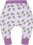 G-MINI Spodnie Krecik Tulipan nadruk rozm. 80 – różowe, dziewczynka