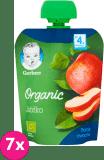 7x GERBER Organic Deserek Jabłko 4m+ (90 g)